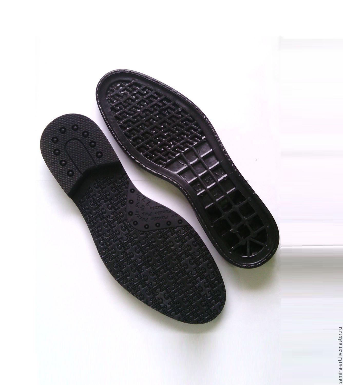 """Валяние ручной работы. Ярмарка Мастеров - ручная работа. Купить Подошва для обуви """"LORENZ"""". Handmade. Черный, подошва, подошва для валенок"""