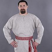 Мужская славянская рубаха своими