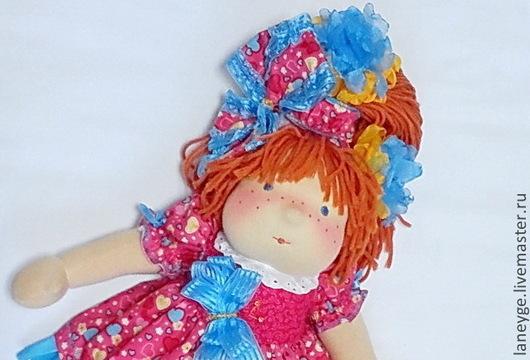 Вальдорфская игрушка ручной работы. Ярмарка Мастеров - ручная работа. Купить Вальдорфская кукла Мия. Handmade. Рыжий, вальдорфская кукла