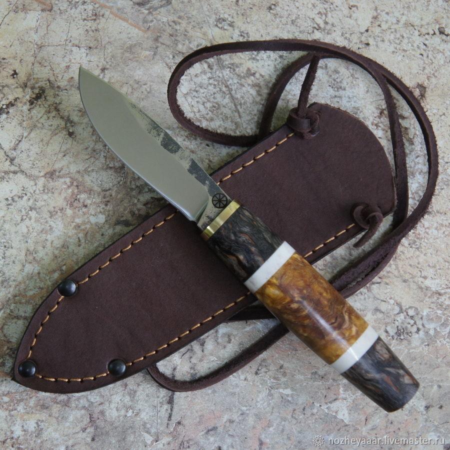 Knife 'Pigeon' 95h18 stab.karelka elk horn, Knives, Vorsma,  Фото №1