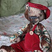 Куклы и игрушки ручной работы. Ярмарка Мастеров - ручная работа мишка Кузьмич. Handmade.
