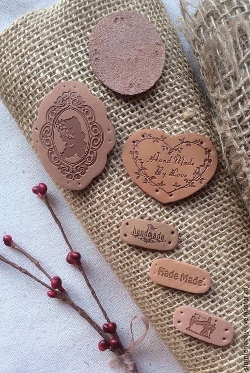 Другие виды рукоделия ручной работы. Ярмарка Мастеров - ручная работа. Купить Кожаная фурнитура, 6 видов. Handmade. Кожа