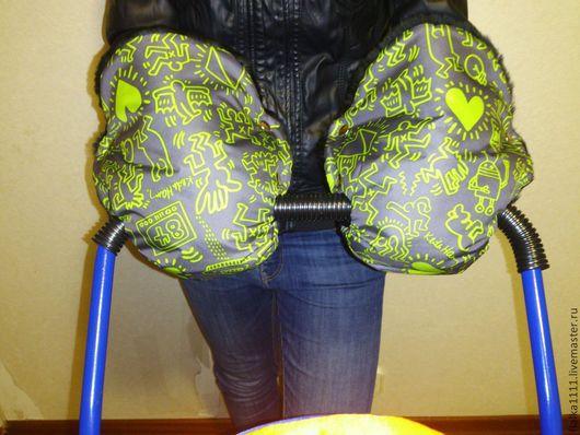Варежки, митенки, перчатки ручной работы. Ярмарка Мастеров - ручная работа. Купить Муфты для детских колясок универсальные в ассортименте. Handmade.