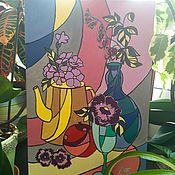 Картины и панно ручной работы. Ярмарка Мастеров - ручная работа Декоративный натюрморт. Handmade.