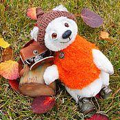 Куклы и игрушки ручной работы. Ярмарка Мастеров - ручная работа мишка Егорка. Handmade.