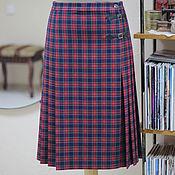 Одежда ручной работы. Ярмарка Мастеров - ручная работа Юбка шотландка Scotland. Handmade.