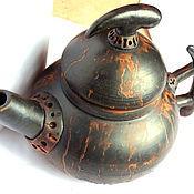 """Посуда ручной работы. Ярмарка Мастеров - ручная работа Чайник """"Наваратри"""". Handmade."""