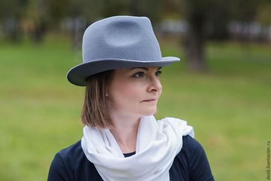 Шляпы ручной работы. Ярмарка Мастеров - ручная работа. Купить Шляпа фетровая. Handmade. Шляпа с полями, шляпа федора