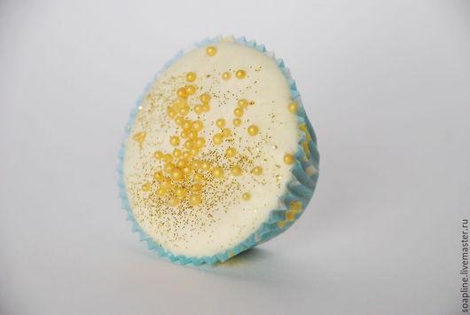 """Пена, молочко для ванны ручной работы. Ярмарка Мастеров - ручная работа. Купить """"Дыня"""" пралине-mini для ванны. Handmade. Желтый"""