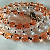 Работы для детей, handmade. Livemaster - original item Necklace-Beads