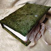 Канцелярские товары ручной работы. Ярмарка Мастеров - ручная работа Блокнот с нуля, личный дневник ручной работы. Handmade.