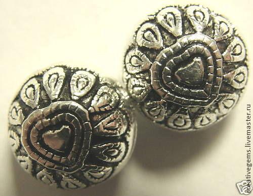 Посеребренная с чернением фурнитура для создания украшений своими руками для радости и удовольствия.