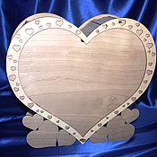 """Свадебный салон ручной работы. Ярмарка Мастеров - ручная работа Шкатулка """"Сердце"""" на подставке. Handmade."""
