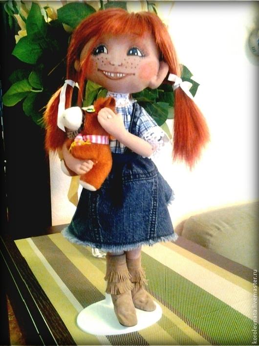 Коллекционные куклы ручной работы. Ярмарка Мастеров - ручная работа. Купить Маняша. Handmade. Разноцветный, интерьерная кукла