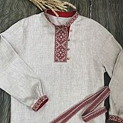 Мужская одежда handmade. Livemaster - original item Kosovorotka