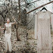 Одежда ручной работы. Ярмарка Мастеров - ручная работа Платье кружевное с открытой спиной. Handmade.