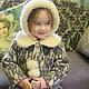 "Зимнее пальто "" Герда"". Childrens outerwears. 'Nezhnyj vozrast'. My Livemaster. Фото №6"