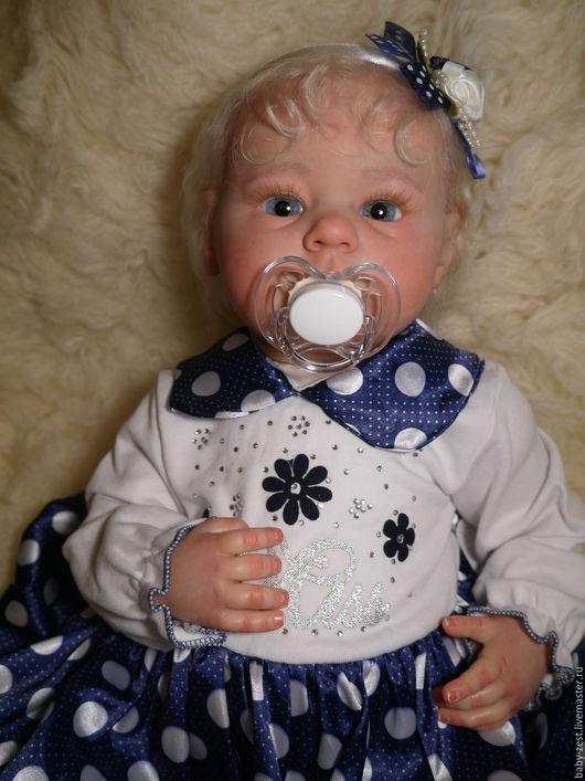 Куклы-младенцы и reborn ручной работы. Ярмарка Мастеров - ручная работа. Купить Кукла реборн Оленька. Handmade. Бежевый