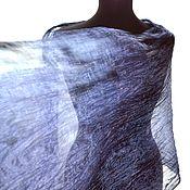 Аксессуары handmade. Livemaster - original item silk scarf hand painting silk. Handmade.