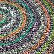 Текстиль, ковры ручной работы. Ярмарка Мастеров - ручная работа. Купить Деревенский коврик.. Handmade. Коврик, коврик на пол, деревенский