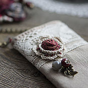 Сумки и аксессуары handmade. Livemaster - original item Phone case for Lace. Handmade.