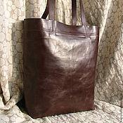 Классическая сумка ручной работы. Ярмарка Мастеров - ручная работа Сумка практичная из настоящей кожи. Handmade.