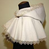 Одежда ручной работы. Ярмарка Мастеров - ручная работа Свадебная пелерина. Handmade.