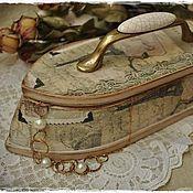 """Для дома и интерьера ручной работы. Ярмарка Мастеров - ручная работа Шкатулка-утюг """"Bon voyage"""". Handmade."""
