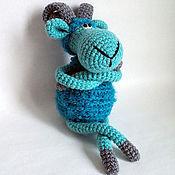 Куклы и игрушки ручной работы. Ярмарка Мастеров - ручная работа Барашек Голубой Овен. Handmade.