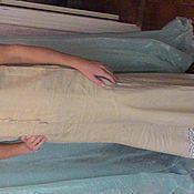 Одежда ручной работы. Ярмарка Мастеров - ручная работа Летнее платье из льна в стиле этно. Handmade.