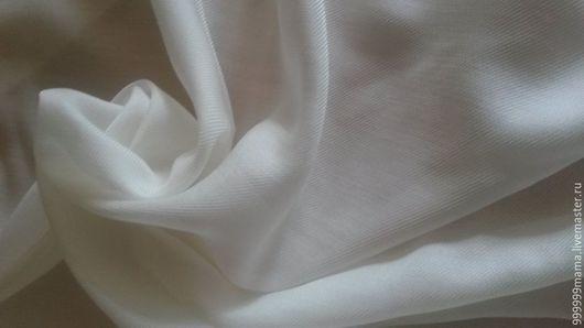 Шитье ручной работы. Ярмарка Мастеров - ручная работа. Купить Шелк+шерсть (35%). Handmade. Белый, палантин ручной работы