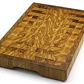 Посуда handmade. Livemaster - original item End cutting Board №89. Handmade.