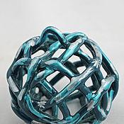 Сувениры и подарки handmade. Livemaster - original item Bell - Christmas ball Turquoise. Handmade.