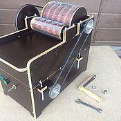 Инструменты для валяния ручной работы. Ярмарка Мастеров - ручная работа Кардер барабанный ручной с электрическим модулем. Handmade.