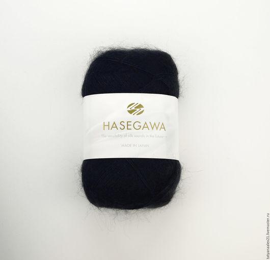 Вязание ручной работы. Ярмарка Мастеров - ручная работа. Купить Пряжа Hasegawa Seika № 39 NAVY. Handmade.