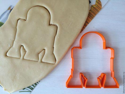 Кухня ручной работы. Ярмарка Мастеров - ручная работа. Купить Форма для печенья Р2Д2. Handmade. Разноцветный, формочка для печенья