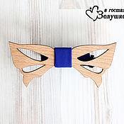 Аксессуары ручной работы. Ярмарка Мастеров - ручная работа Мужской галстук-бабочка из дерева - Узор. Handmade.