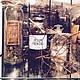 """Декоративная посуда ручной работы. Заказать Декоративная бутылочка """"OLEUM FOENICULI"""". Дизайн-мастерская EcoShiningHome (eco2014). Ярмарка Мастеров. Пузырек"""