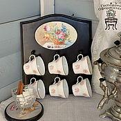 """Для дома и интерьера ручной работы. Ярмарка Мастеров - ручная работа Подвес для чашек """"Летнее утро"""". Handmade."""