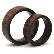 Rings handmade. Livemaster - original item Wooden ring. Handmade.
