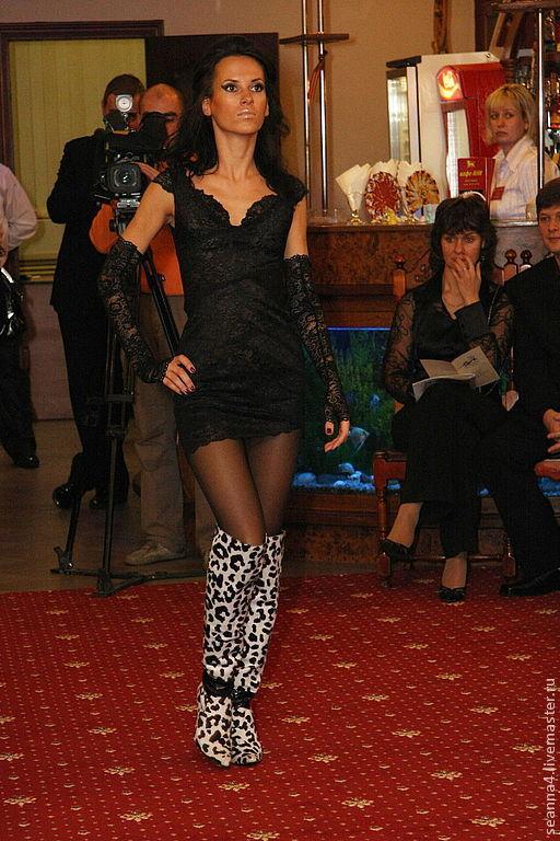 """Платья ручной работы. Ярмарка Мастеров - ручная работа. Купить Платье из черного эластичного кружева """"Стройняшка"""" в любом цвете. Handmade."""