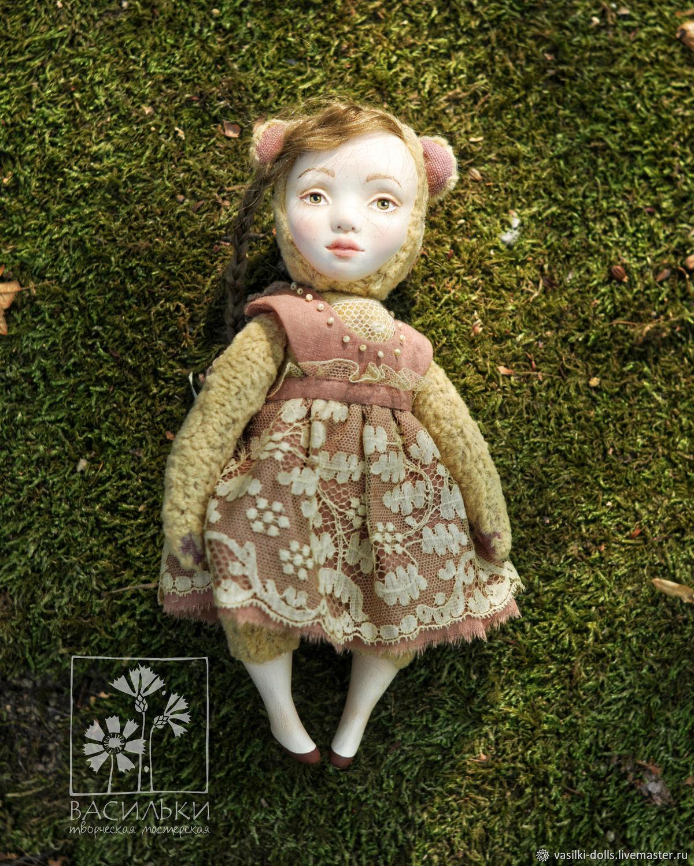 Тедди-долл мишка Сонечка, Куклы и пупсы, Сочи,  Фото №1