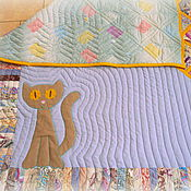 Для дома и интерьера ручной работы. Ярмарка Мастеров - ручная работа Лоскутное одеяло/панно/покрывало. Handmade.