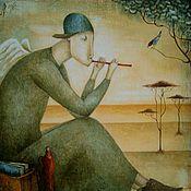 Картины и панно ручной работы. Ярмарка Мастеров - ручная работа Птичья песенка. Handmade.