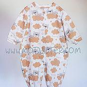 Одежда детская handmade. Livemaster - original item Slip for a newborn №1. Handmade.