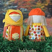 Куклы и игрушки ручной работы. Ярмарка Мастеров - ручная работа Крупеничка и Богач, оберег на богатство. Handmade.