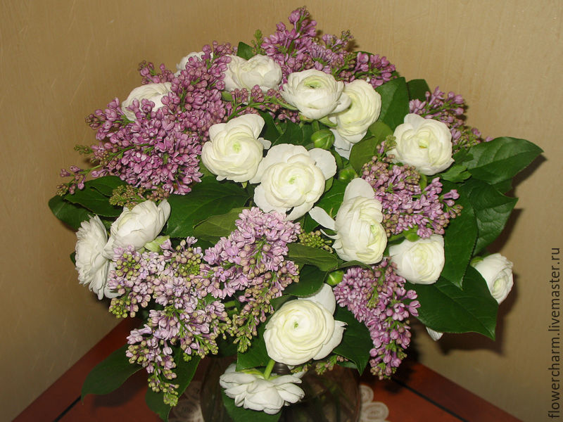 Букет из живых цветов, Букеты, Москва, Фото №1