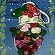 Топиарии ручной работы. Цветочная чашка Птичка певчая.. Сувениры ручной работы от ElenaVSh. Ярмарка Мастеров. Розы, для интерьера кухни