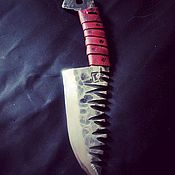 Бутафорский нож ручной работы. Ярмарка Мастеров - ручная работа Чоппа орка маньяка скорости. Handmade.