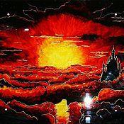 Картины ручной работы. Ярмарка Мастеров - ручная работа Фэнтези-картины на стекле-2. Handmade.
